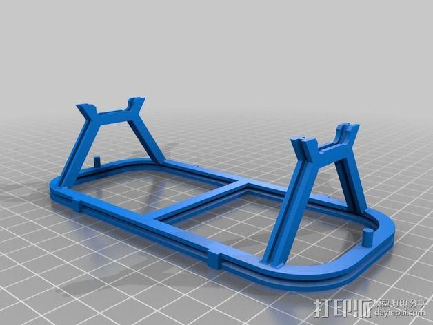 哈德森自卸铁路货车 3D模型  图5