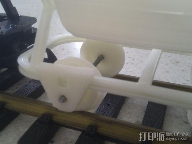 哈德森自卸铁路货车 3D模型  图10