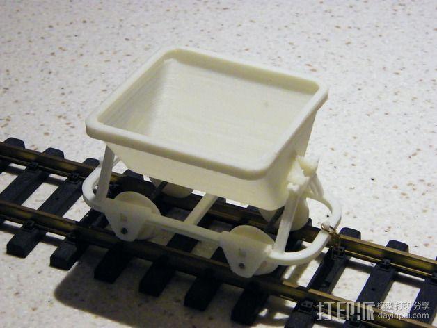 哈德森自卸铁路货车 3D模型  图12