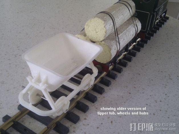 哈德森自卸铁路货车 3D模型  图13