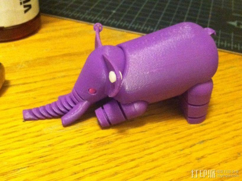 大象  3D模型  图5
