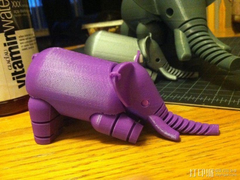 大象  3D模型  图7