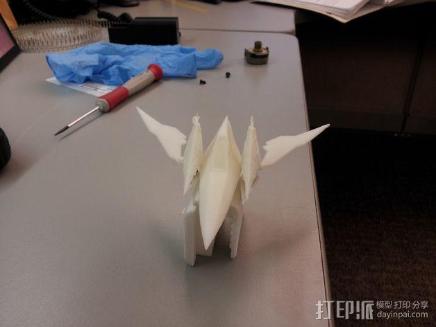 Star Fox飞机模型 3D模型  图5