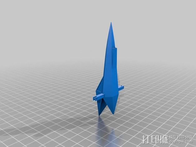 Star Fox飞机模型 3D模型  图11
