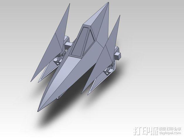 Star Fox飞机模型 3D模型  图18