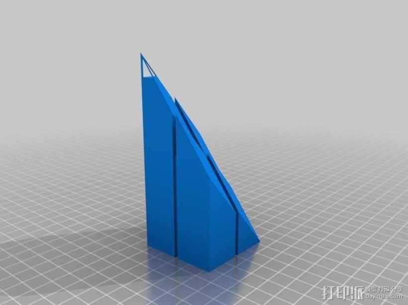 世贸中心大楼 3D模型  图2