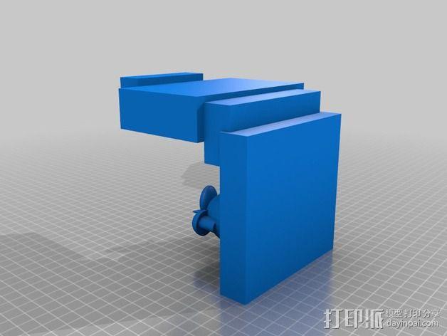 看电视的小羊 3D模型  图4