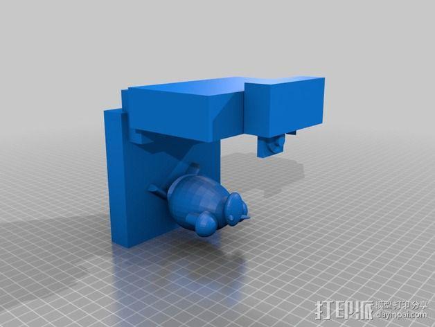 看电视的小羊 3D模型  图3