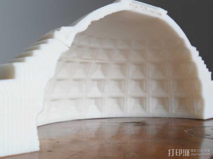 罗马万神庙 3D模型  图1