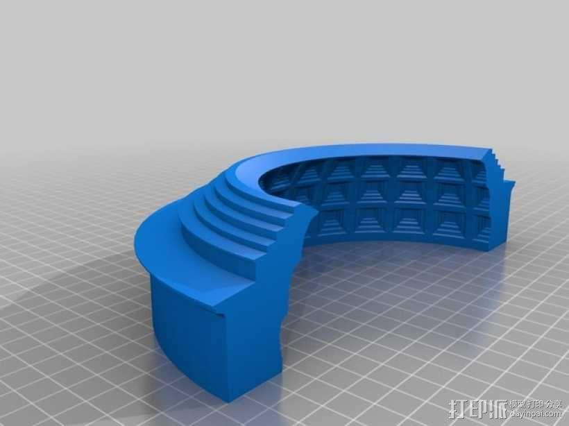 罗马万神庙 3D模型  图3