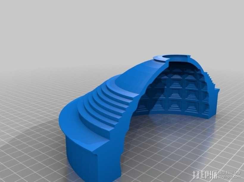 罗马万神庙 3D模型  图4