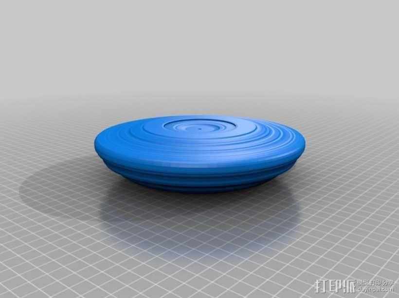 飞碟 飞盘 3D模型  图1