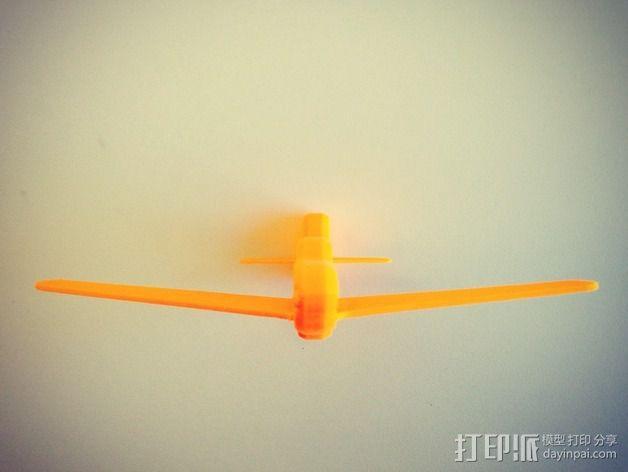 p-51 野马战斗机 3D模型  图5