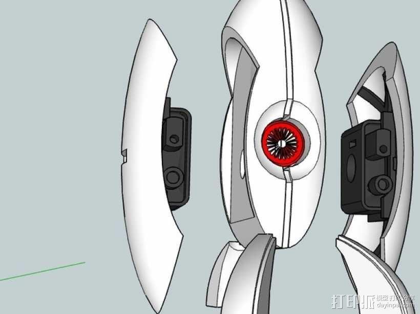 哨兵炮塔 3D模型  图1