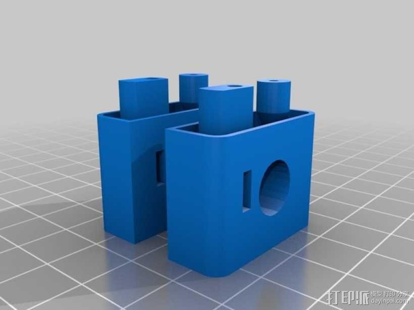 哨兵炮塔 3D模型  图4