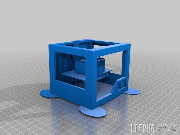唱片机 3D模型  图2