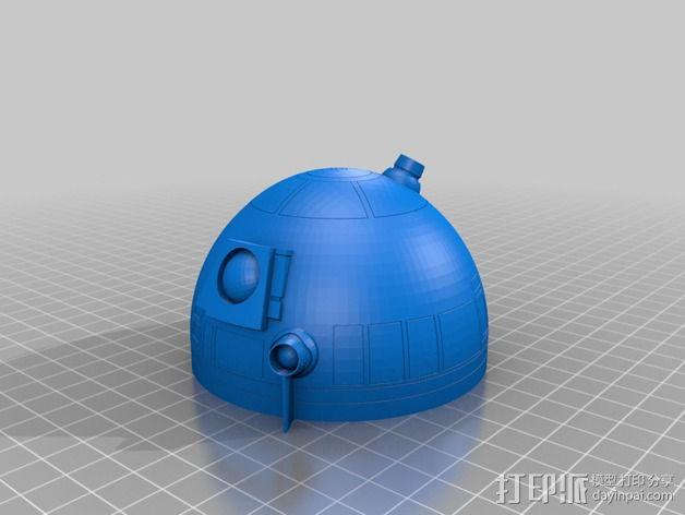 R2D2机器人 3D模型  图3