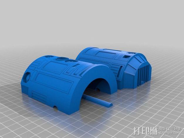 R2D2机器人 3D模型  图4
