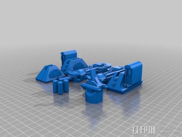 R2D2机器人 3D模型  图5