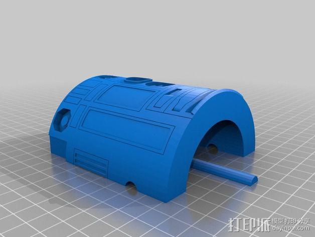R2D2机器人 3D模型  图8