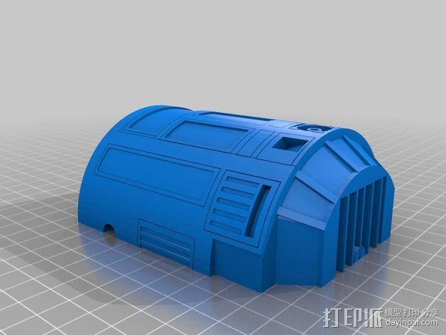 R2D2机器人 3D模型  图9