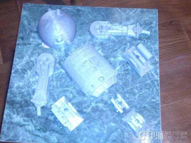 R2D2机器人 3D模型  图18