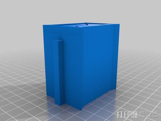 建筑墙壁模型 3D模型  图2