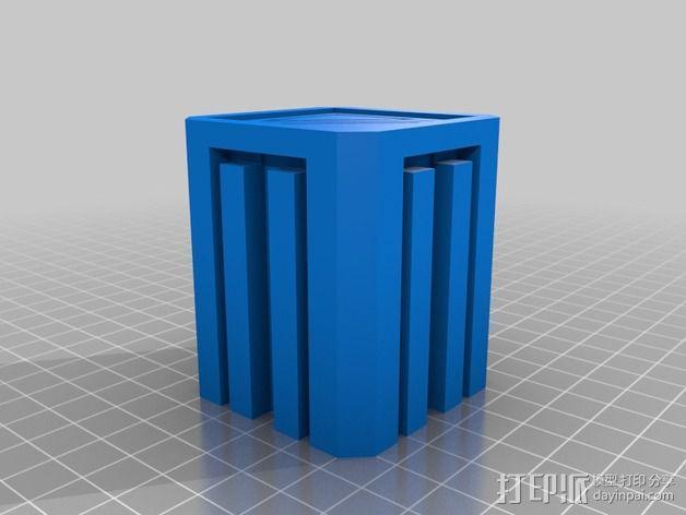 建筑墙壁模型 3D模型  图3