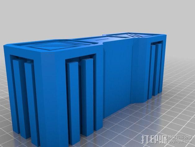 建筑墙壁模型 3D模型  图6