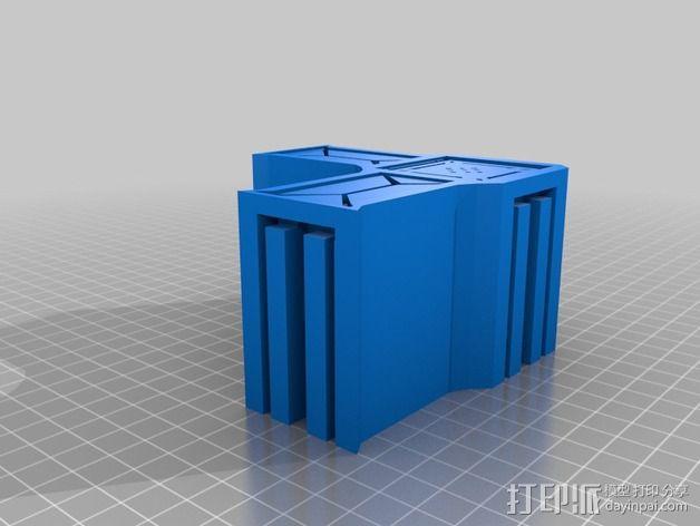 建筑墙壁模型 3D模型  图5