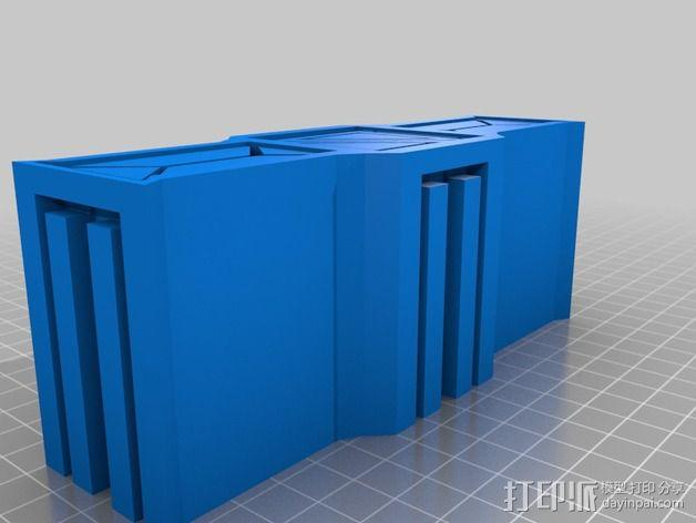 建筑墙壁模型 3D模型  图8