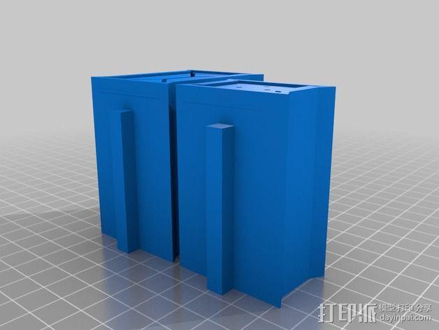建筑墙壁模型 3D模型  图7