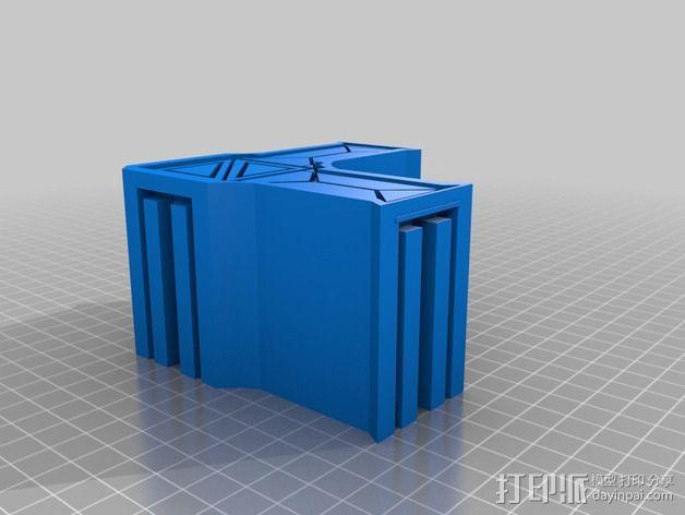 建筑墙壁模型 3D模型  图11