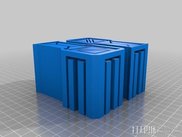 建筑墙壁模型 3D模型  图10