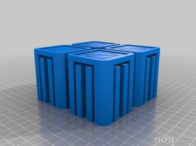 建筑墙壁模型 3D模型  图14