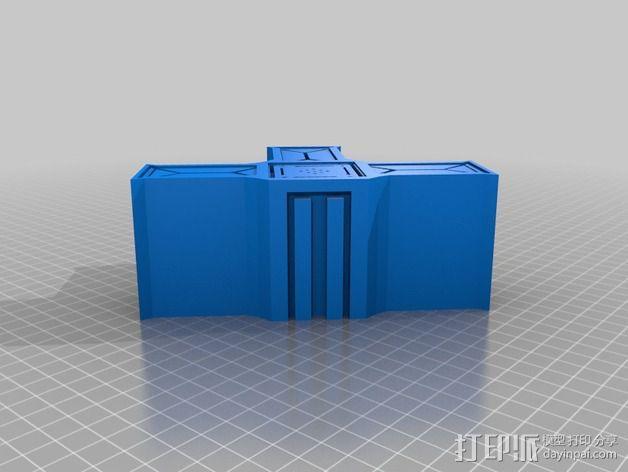 建筑墙壁模型 3D模型  图12