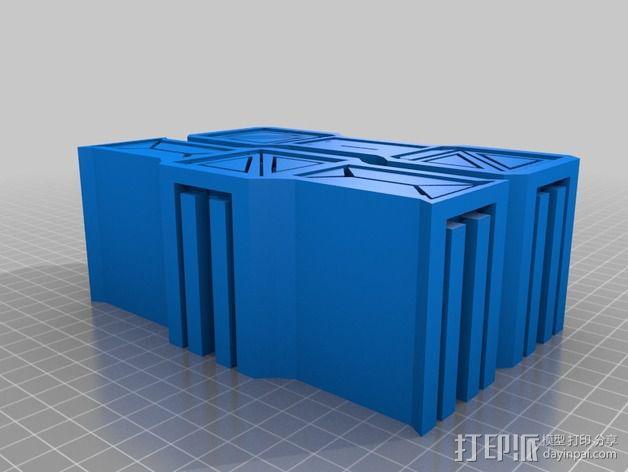 建筑墙壁模型 3D模型  图13