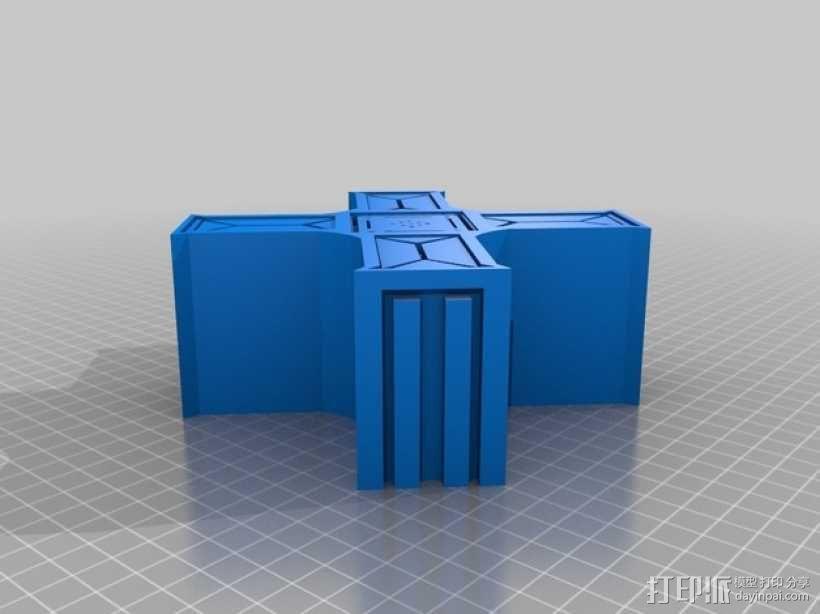 建筑墙壁模型 3D模型  图16