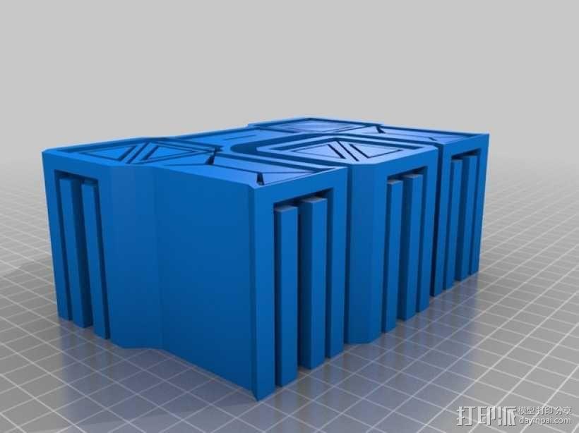 建筑墙壁模型 3D模型  图15