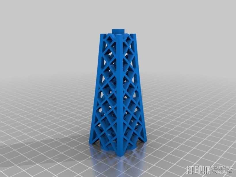 埃菲尔铁塔 3D模型  图3