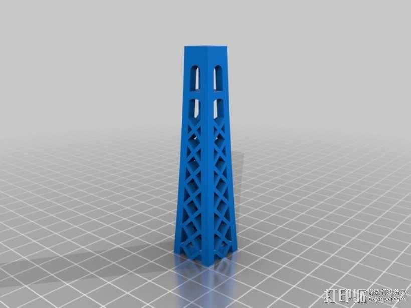 埃菲尔铁塔 3D模型  图5