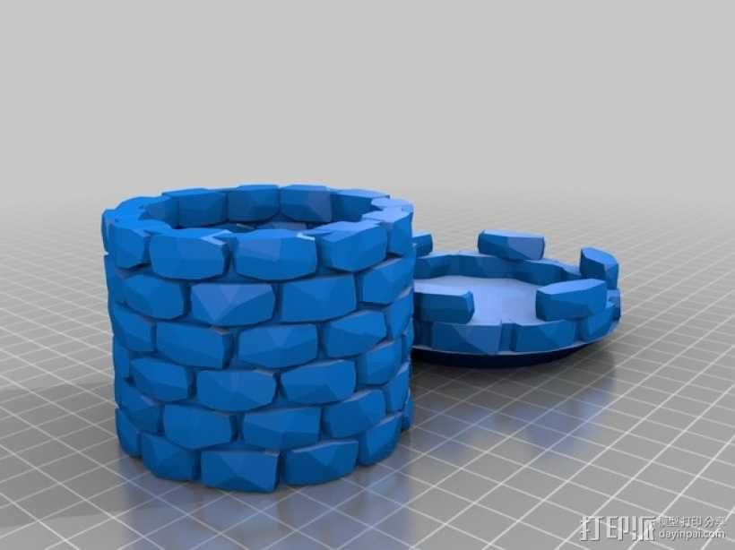 炮塔 3D模型  图1