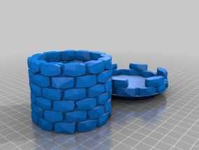 炮塔 3D模型
