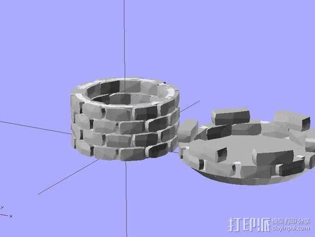 炮塔 3D模型  图3