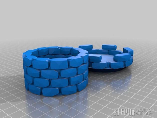 炮塔 3D模型  图2