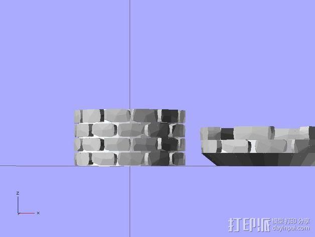 炮塔 3D模型  图6