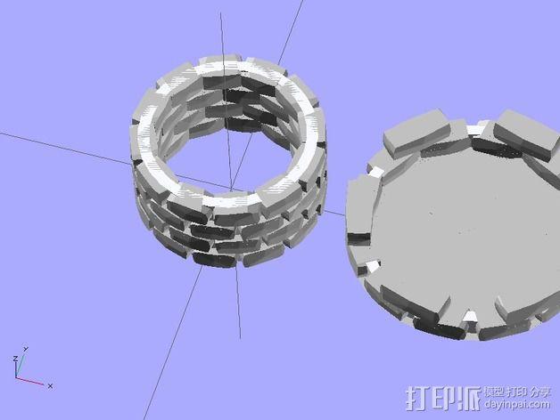 炮塔 3D模型  图5