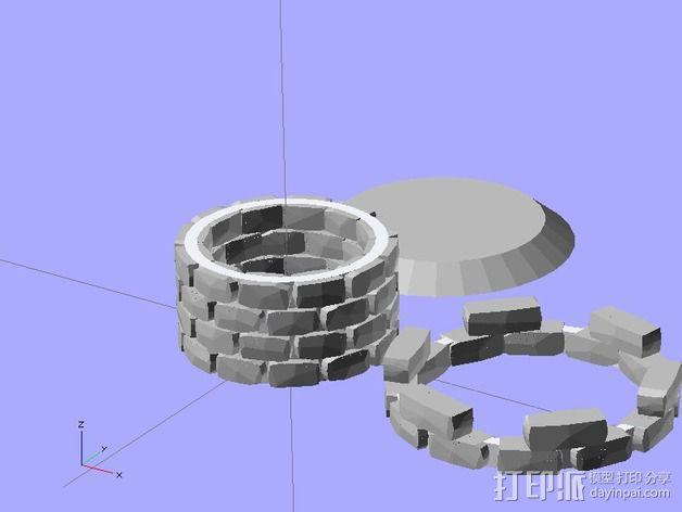 炮塔 3D模型  图4