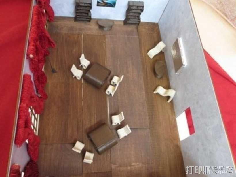 迷你家具 3D模型  图17