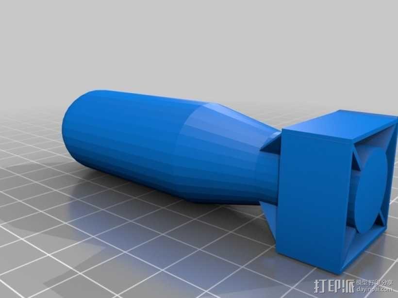 原子弹 3D模型  图2